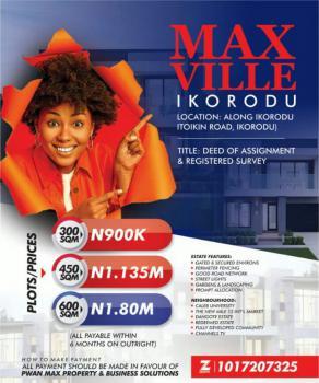 Max Ville Estate, Along Ikorodu Itoikin Road, Ikorodu, Lagos, Mixed-use Land for Sale