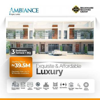 Three Bedroom Terraced Duplex + Bq, Abraham Adesanya, Ajah, Lagos, Terraced Duplex for Sale