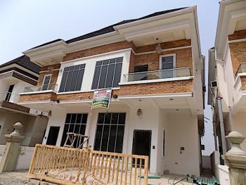 Tastefully Finished 4 Bedroom Semi Detached Duplex +bq in an Estate, Chevron, Lekki Phase 2, Lekki, Lagos, Semi-detached Duplex for Sale