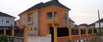New 4 Bedroom Detached Duplex + Bq with Spacious Compound for 15 Cars, Diamond Estate, Sangotedo, Ajah, Lagos, Detached Duplex for Rent