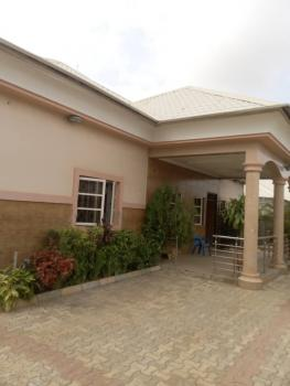 Luxury 4 Bedrooms Plus a Bq in a Pretty Location, Dabu Estate, After Godab and Brains and Hammers Estate, Life Camp, Abuja, Detached Bungalow for Sale