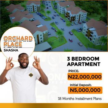 Luxury 3 Bedroom Apartment, Orchard Place Shasha, Akowonjo, Alimosho, Lagos, Block of Flats for Sale