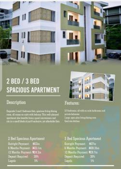 2 Bedroom Spacious Apartment, Amen Estate Phase 2, Ibeju Lekki, Lagos, Flat for Sale