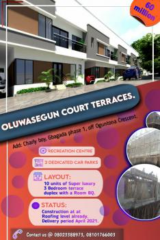 4 Bedroomterrace, Gbagada Phase 2, Gbagada, Lagos, Terraced Duplex for Sale