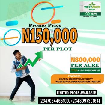 Invest in Plantain Farm and Get Return on Investment Every 6 Months, Westagro Farm Remo Ijebu, Remo North, Ogun, Industrial Land for Sale