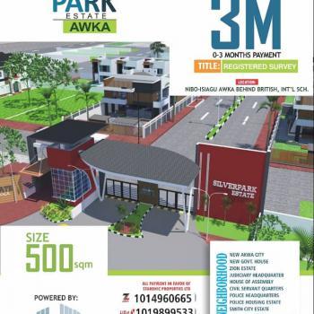 Land, Silver Park Estate Behind British International School 3 Awaka, Isiagu, Awka, Anambra, Residential Land for Rent