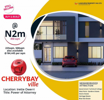 Good Investment Land in Government Approved Location, Cherry Bay Estate Irete, Irete, Owerri West, Imo, Mixed-use Land for Sale