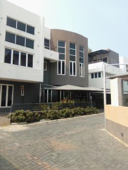 4 Bedroom Semi Detached  Duplex with Bq in Mini Court, S/pool, Banana Island Road, Banana Island, Ikoyi, Lagos, Terraced Duplex for Rent