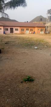 Dry Plot of Land Measuring 2000 Sqm with Unfinished Building, Zoo Estate ( Close to Shoprite ), Enugu, Enugu, Mixed-use Land for Sale