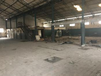 3,600m2 Plot with 2 Bays of Warehouse Plus 3 Storey Bay Office, Commercial Road, Off Wharf Road, Apapa, Lagos, Warehouse for Sale