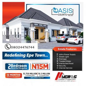 House, Oasis Court, Epe, Lagos, Detached Bungalow for Sale