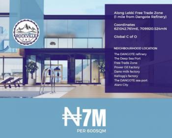 Plot of Estate Land in Good Location, Rockville Courts, Osoroko, Ibeju Lekki, Lagos, Residential Land for Sale