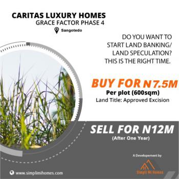 Land Banking/speculation with Approved Excision, Sangotedo, Ajah, Lagos, Commercial Land for Sale