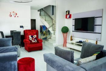 White - Wonder 4 Bedrooms Duplex with Exquisite Features, Bridge View Estate, Agungi, Lekki, Lagos, Flat Short Let