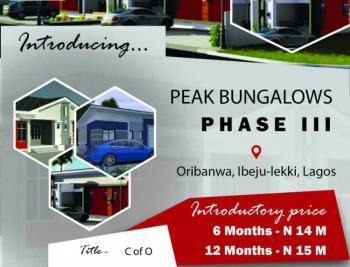 Peak Bungalow Phase 3, Awoyaya, Ibeju Lekki, Lagos, Semi-detached Bungalow for Sale