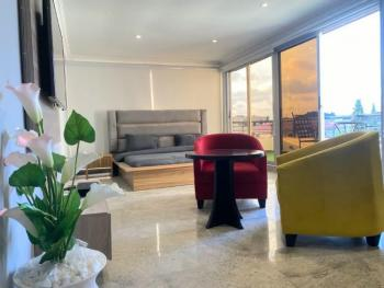 Cute 1 Bedroom Penthouse, Lekki Phase 1, Lekki, Lagos, Mini Flat Short Let