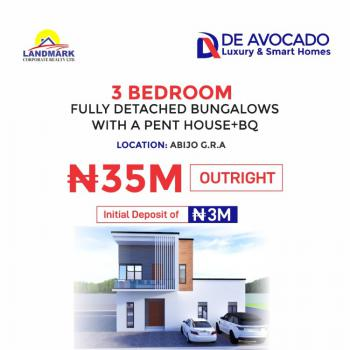 Luxury 3 Bedroom Flat with Excellent Finishing., G.r.a, Abijo, Lekki, Lagos, Flat for Sale