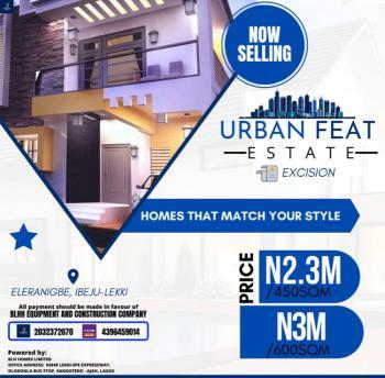 Urban Feet Estate, Eleranigbe, Ibeju Lekki, Lagos, Residential Land for Sale