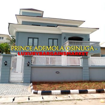 Prince Ademola Osinuga Offers!!! New Fully Detached 5 Bedroom House, Ikoyi, Lagos, Detached Duplex for Sale