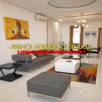 Prince Ademola Osinuga Offers! Furnished 3 Bedroom Apartment!, Parkview, Ikoyi, Lagos, Flat Short Let