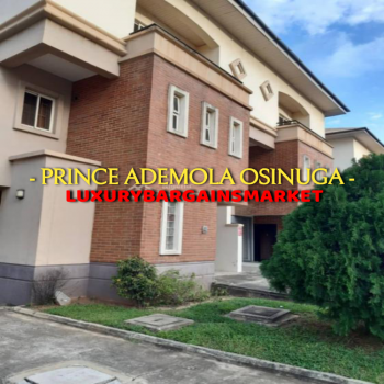 Great Deal. Well Built Waterfront 4 Bedroom Semi Detached House, Banana Island, Ikoyi, Lagos, Semi-detached Duplex for Sale