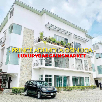 Waterfront 3 Bedroom Apartment +bq, Prince Ademola Osinuga Deals, Banana Island, Ikoyi, Lagos, Flat / Apartment for Sale