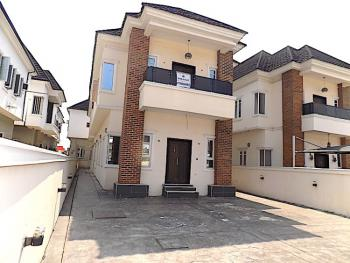 New House Very Spacious 5 Bedroom Fully Detached Duplex with Bq, Chevron, Lekki, Lagos, Detached Duplex for Sale