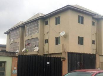 Neatly Used 6units of 3 Bedroom Flat, Ago Palace Way, Okota, Isolo, Lagos, Block of Flats for Sale