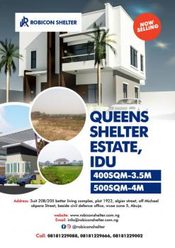 4 Bedroom Duplex, Robicon Shelter, Idu Industrial, Abuja, Residential Land for Sale