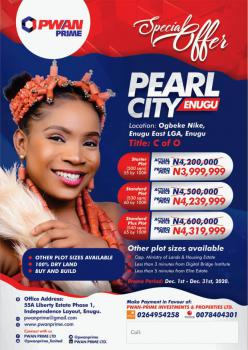 C of O, Pearl City Ogbeke Village Engu East Lga, Enugu, Enugu, Mixed-use Land for Sale
