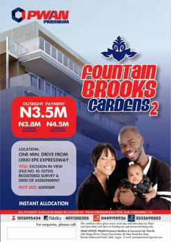 Registered Survey and Deed of Assignment, Fountain Brooks Gardens 2, Lekki Expressway, Lekki, Lagos, Mixed-use Land for Sale