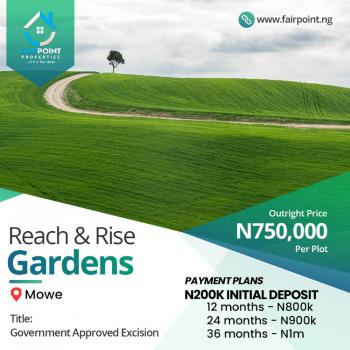 Plots of Land Available, Mowe Ofada, Ogun, Residential Land for Sale