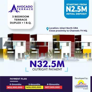 Luxury 3 Bedroom  Terrace Duplex + Bq, Gra, Isheri North, Lagos, Terraced Duplex for Sale