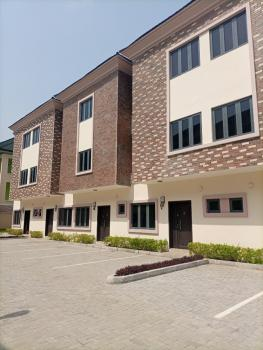 Brand New 4 Bedroom Terrace Duplex Service Apartment with 24hrs Light, Osapa, Lekki, Lagos, Terraced Duplex for Rent