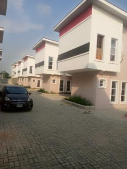 a Brand New 4 Bedroom Terrace with a Room Bq, Salem Bus Stop, Behind Elevation Church, Ikate, Lekki, Lagos, Terraced Duplex for Rent