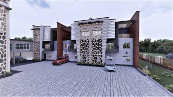 Luxury 4 Bedroom Terraced Duplex with Penthouse and Bq, Bolskine Court, Life Camp, Abuja, Terraced Duplex for Sale