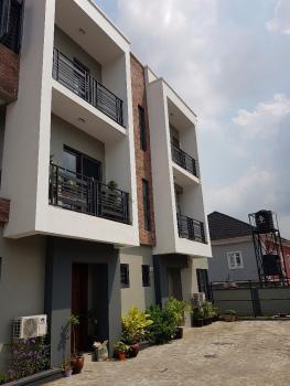 4 Bedroom Terrace Duplex with Bq, Self Compound, Akora Villa, Adeniyi Jones, Ikeja, Lagos, Terraced Duplex for Sale