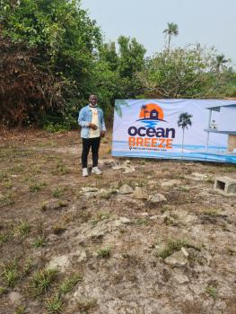 Build Your Ocean View Private Mansion on a Dry Land at Promo Price, Located at Igbo-olomi Town, 2 Minutes to La Campaigne Tropicanca,ibeju, Ibeju Lekki, Lagos, Commercial Land for Sale