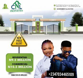 Buy and Build Land, Ayhomes Garden,igando, Before Eleko Junction, Off Lekki-epe Expressway, Eleko, Ibeju Lekki, Lagos, Mixed-use Land for Sale