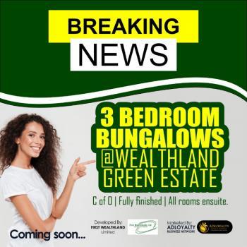 Wealthland Green Estate: Fully Detached 3 Bedroom Bungalow, Oribanwa, Off Lekki-epe Expressway, Awoyaya, Ibeju Lekki, Lagos, Detached Bungalow for Sale