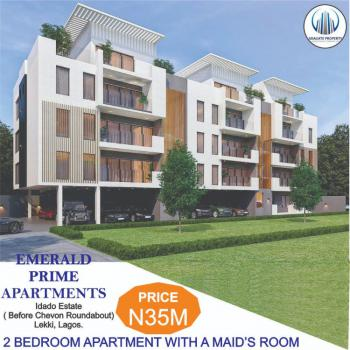 Luxury 2 Bedroom Apartment with Maids Room and Fitted Kitchen, Idado Estate, Before Chevron, Idado, Lekki, Lagos, Flat / Apartment for Sale