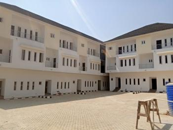 Newly Built 4 Bedroom Terrace with an Attached Bq All Rooms, Guzape District, Abuja, Terraced Duplex for Sale