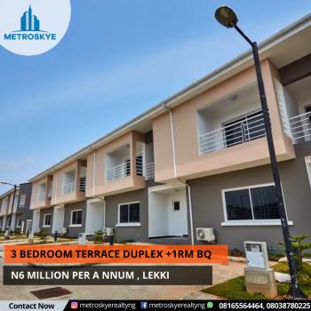 Luxury 3 Bedroom Terrace Duplex Now Available, Lekki, Lagos, Terraced Duplex for Rent