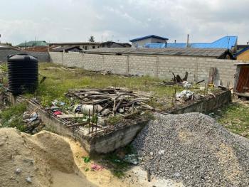 a Full Plot of Land with Solid Foundation, Karounwi Street, Ijesha, Surulere, Lagos, Residential Land for Sale