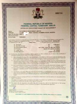 80.2 Hectares Mass Housing Fcda R of O (handy Now!!!), Sabo Gida, Abuja, Residential Land for Sale