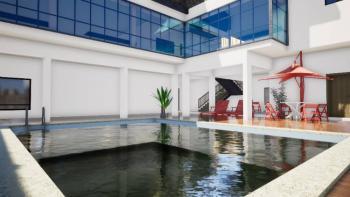 Fast Ongoing Quality 1 Bedroom Apartment, Behind Romey Gardens Opposite Nicon Town, Lekki, Ilasan, Salem Bustop, Lekki Phase 1, Lekki, Lagos, Block of Flats for Sale
