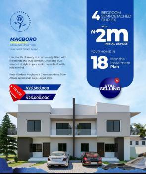 4 Bedroom Semi-detached Duplex, After Berger, Magboro, Ogun, Semi-detached Duplex for Sale