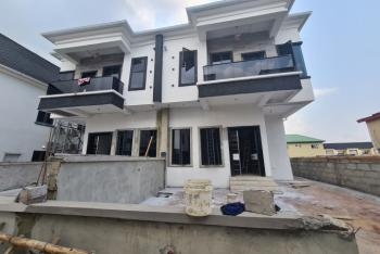Brand New 4 Bedroom Semi-detached House with Bq, Oral Estate, Lekki, Lagos, Semi-detached Duplex for Rent