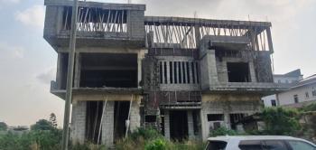 5 Bedroom Detached Duplex (carcass) with Bq Sitting on 610sqm, The Vintage Park Estate, Near House on The Rock, Lekki Phase 1, Lekki, Lagos, Detached Duplex for Sale