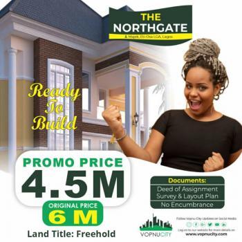 Residential Land with Excision, The Northgate Estate Majek Eti Osa Lga, Lekki Expressway, Lekki, Lagos, Residential Land for Sale